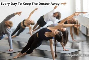 Yoga Every Day Keep The Doctor