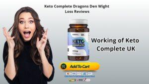 Keto Complete Dragons Den